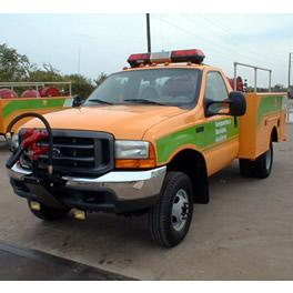 Camión contra incendio